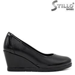 Pantofi dama cu toc inclinat - 34297