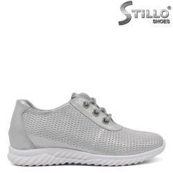 Pantofi dama sport eleganti si cu sireturi - 34362
