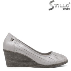 Pantofi dama perforati si cu platforma - 34443