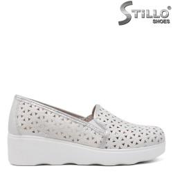 Pantofi dama sport cu platforma si decoratie - 34450