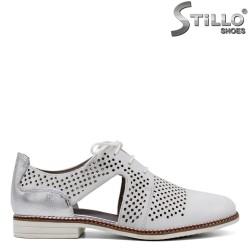 TAMARIS pantofi dama de vara decupati din piele naturala - 34454