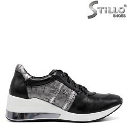 Pantofi dama sport cu platforma mijlocie - 34582