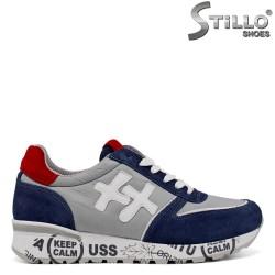 Pantofi sport barbati cu imprimanta scrisa - 34587
