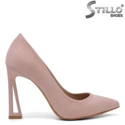 Pantofi dama moderni de culoare roz -34613