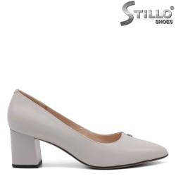 Pantofi dama eleganti de culoare gri - 34661