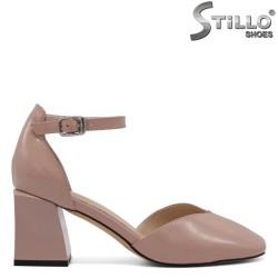 Pantofi dama de vara cu toc gros - 34687
