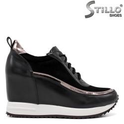Pantofi dama sport cu platforma - 34692