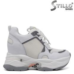 Pantofi sport dama cu platforma - 34695