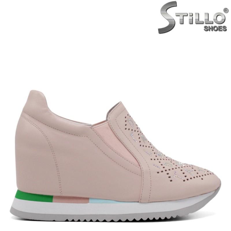 Pantofi dama eleganti din piele naturala - 34700