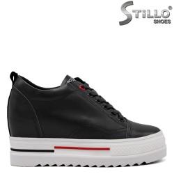 Pantofi dama sport de culoare negru - 34702