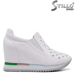 Pantofi dama sport din piele naturala - 34703