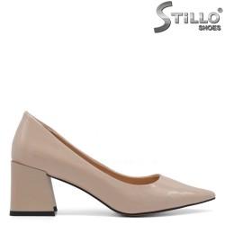 Pantofi dama eleganti  cu toc patrat - 34738