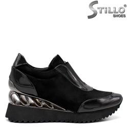 Pantofi dama sport cu platforma - 34741