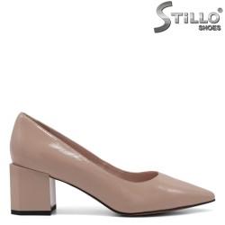 Pantofi dama eleganti de culoare bej - 34748