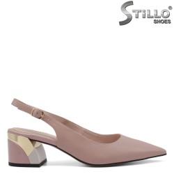Pantofi dama cu partea din spate decupata - 34750