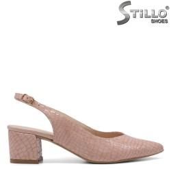 Sandale dama elegante cu stampa tip sarpe - 34784