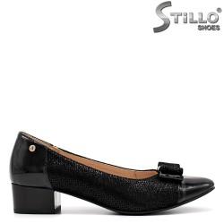 Pantofi dama de zi cu zi cu toc jos - 34788