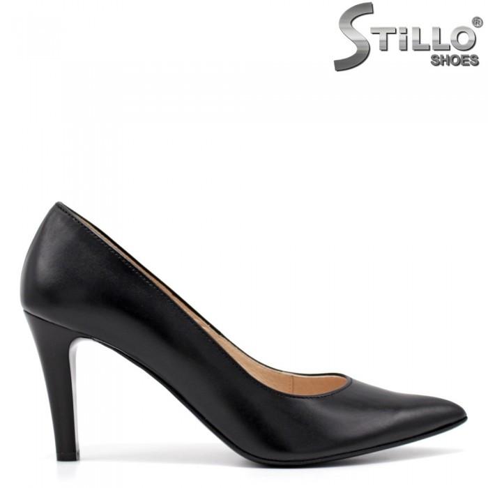 Pantofi dama eleganti din piele naturala - 34796