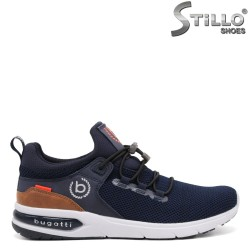 Pantofi barbati sport model Bugatti de culoare albastru - 34797