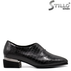Pantofi dama cu imprimanta tip croco - 34813