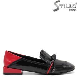 Pantofi dama de culoare rosu si negru - 34814