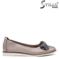 Pantofi dama de culoare cupru - 34848