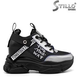 Sneakers dama cu platforma - 34856