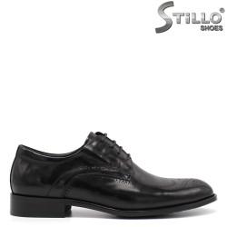 Pantofi barbati din piele naturala  de ocazie  - 34873