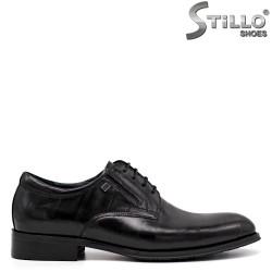 Pantofi barbati de ocazie din piele de culoare negru - 34875