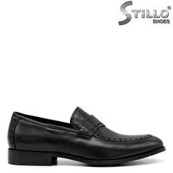 Pantofi barbati cu perforatie decorativa - 34880