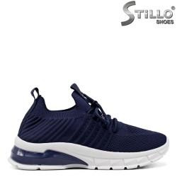Pantofi dama sport de culoare albastru - 34890