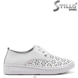 Pantofi dama confortabili si cu sireturi - 34912