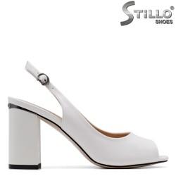 Sandale dama cu toc inalt stabil - 34954