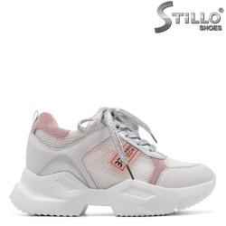 Sneakers dama de vara cu plasa - 34964