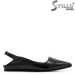 Pantofi dama moderni cu partea din spate decupata - 34976