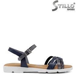 Sandale dama anatomice cu talpa dreapta - 34995