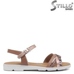 Sandale dama antomice cu talpa dreapta - 34997