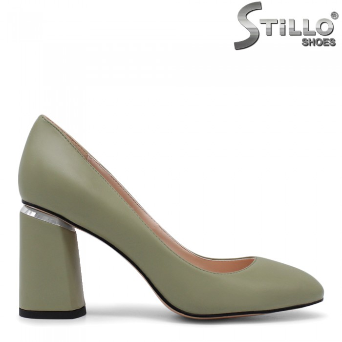 Pantofi dama cu toc gros - 35409