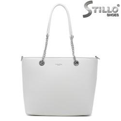 Geanta dama de culoare alb model Chantal - 35005