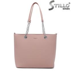 Geanta dama de culoare roz - 35010