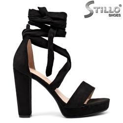 Sandale dama curelusa la glezna - 35085