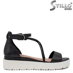 Sandale dama cu cureluse incrucisate - 35119