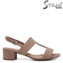 Sandale dama cu toc mijlociu - 35124