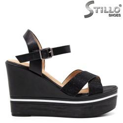 Sandale dama cu platforma inalta - 35137