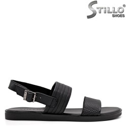 Sandale barbati din piele naturala - 35168