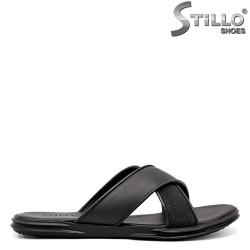 Papuci barbati cu bentite incrucisate - 35169