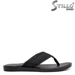Papuci barbati din piele naturala - 35170