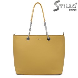 Geanta dama de culoare galben model Chantal - 35198