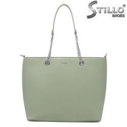 Geanta dama de culoare verde model Chantal - 35199