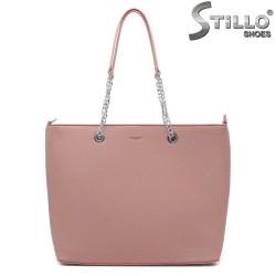 Geanta dama de culoare roz Chantal - 35200